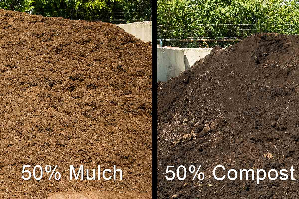 100 Bark Mulch Vs Rock Shop Bagged At Lowes