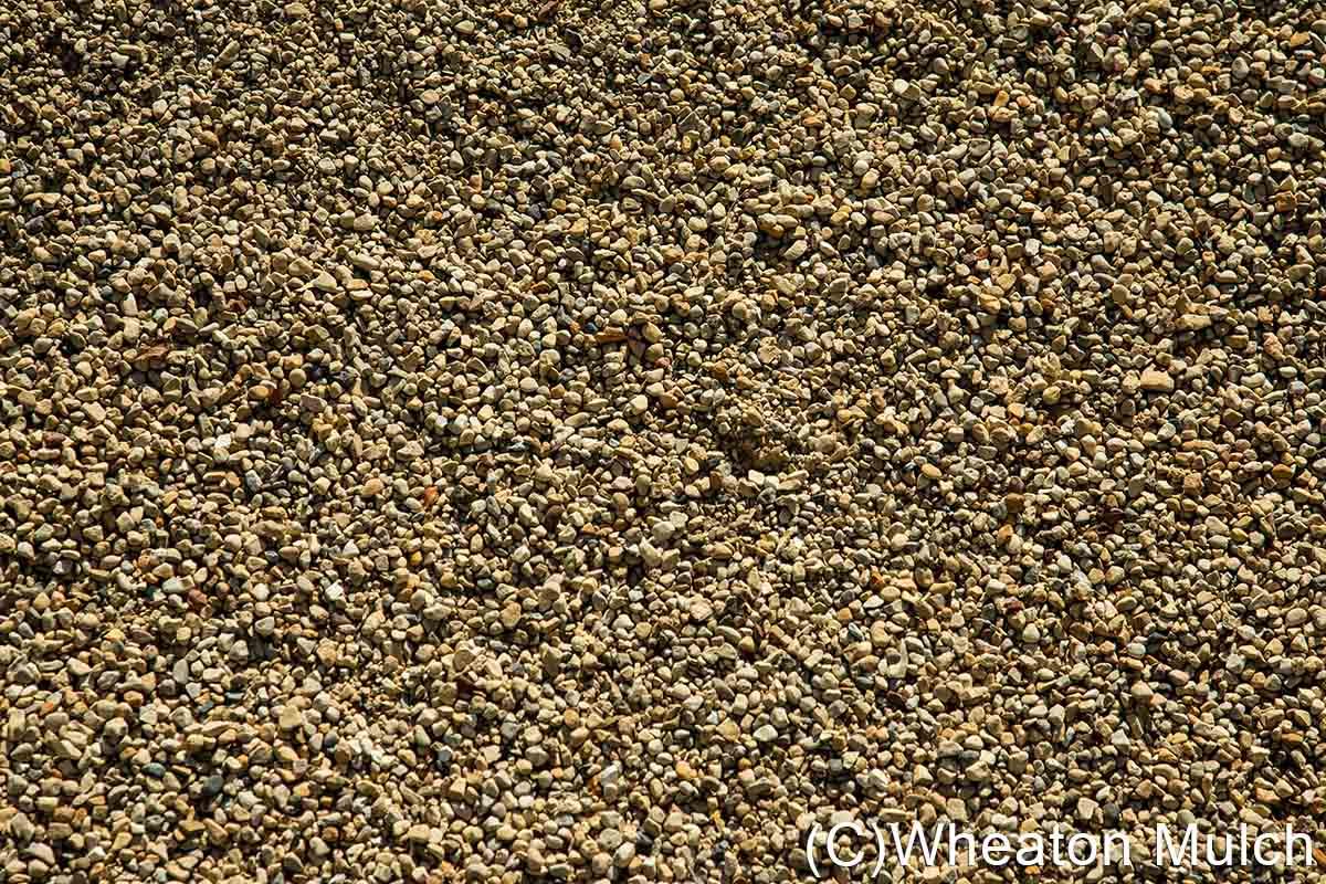 Pea gravel wheaton mulch inc for Landscape rock delivery near me