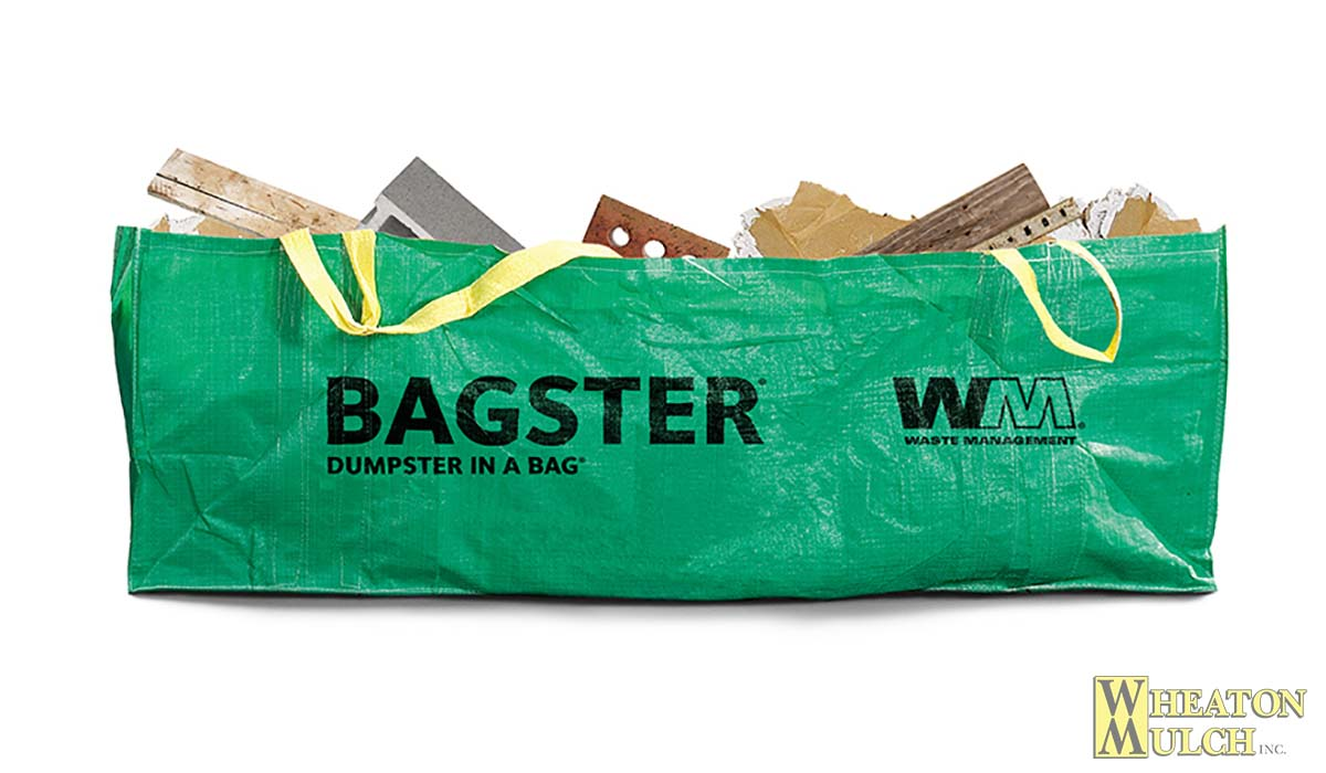 Waste Management Bagster | Wheaton Mulch
