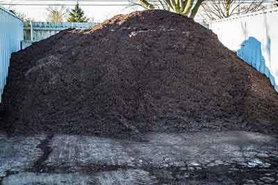 Enhanced Brown Mulch